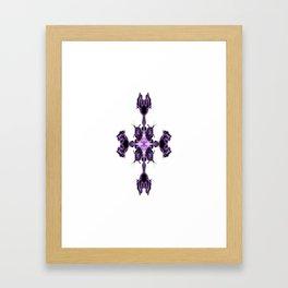 Digital Cross Framed Art Print