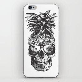 Pineapple Skull Head iPhone Skin