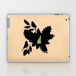 New Hampshire - State Papercut Print Laptop & iPad Skin