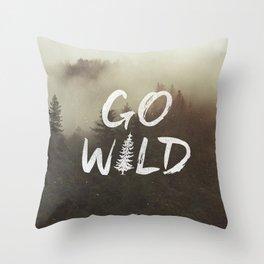 Go Wild Throw Pillow