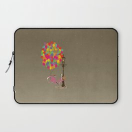 Love to Ride my Bike with Balloons even if it's not practical. Laptop Sleeve