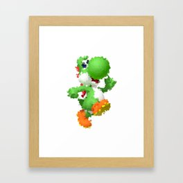 Yoshi Framed Art Print