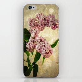 Vintage Lilacs in Bloom iPhone Skin