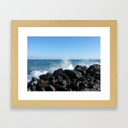 Sea wave Framed Art Print