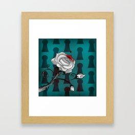 Bloody Alice Framed Art Print
