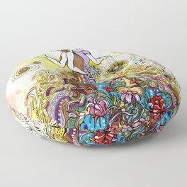 Agota Krnacs Illustration©2012 Floor Pillow