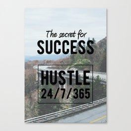 Motivation - The Secret for success Canvas Print