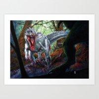Indomitable Monster Art Print