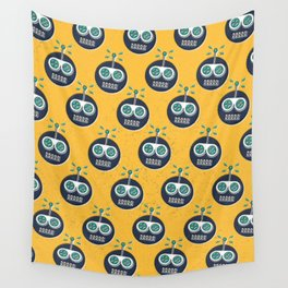 RW PATTERN YELLOW Wall Tapestry