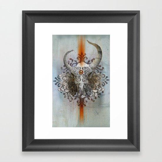 Carved Soul Framed Art Print