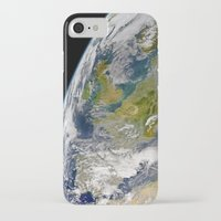europe iPhone & iPod Cases featuring Europe by Planet Prints