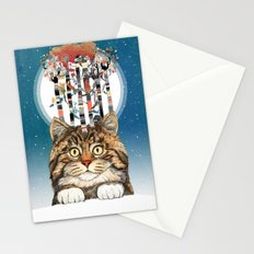 Feline Forest Stationery Cards
