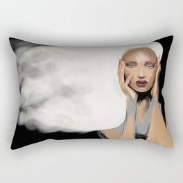 Cloudy mind Rectangular Pillow