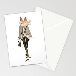 Polka Dot Fox Stationery Cards