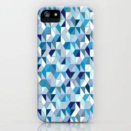 Geometrica (blue) iPhone Case