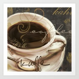 Le Cafe II Art Print