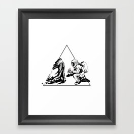 Columbus Day Framed Art Print