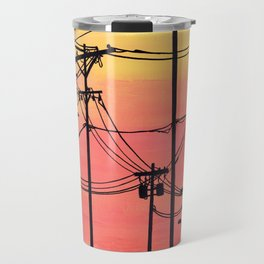 Industry poles sunset Travel Mug