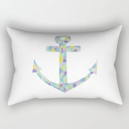 Colorful Anchor Rectangular Pillow