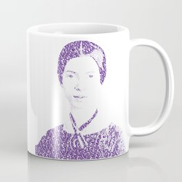 Emily Dickinson - Word Portrait Coffee Mug