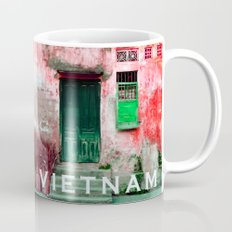 ANTIQUE CHINESE WALL of HOI AN in VIETNAM Mug