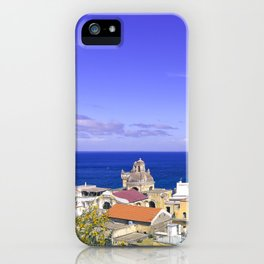 The Pearl Of The Mediterranean Sea iPhone Case