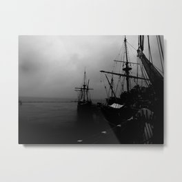 Midnight Harbor Metal Print