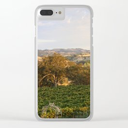 Paso Robles Hills Clear iPhone Case