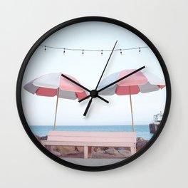 Malibu Pier Wall Clock