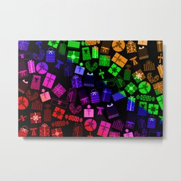 Happy Holiday Gifts! Metal Print