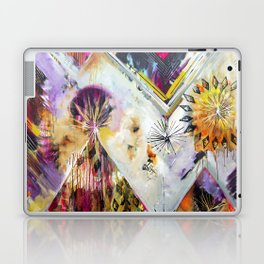 """Burn Bright"" Original Painting by Flora Bowley Laptop & iPad Skin"