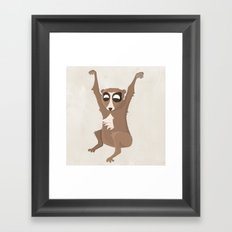 Slow Loris Framed Art Print