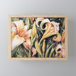 Lilies Framed Mini Art Print