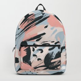Pastel abstraction I Backpack