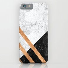 Marble & Gold Foil Slim Case iPhone 6s