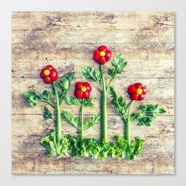 Pepper flowers (23) Canvas Print