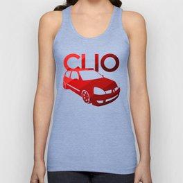 Renault Clio - classic red - Unisex Tank Top