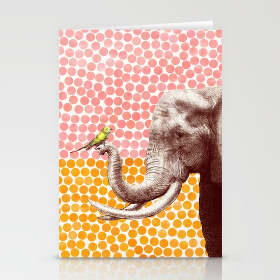 New Friends 2 by Eric Fan and Garima Dhawan Stationery Cards