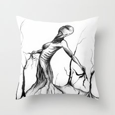 Earthling Throw Pillow