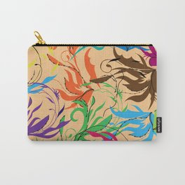 Bright abstract oriental pattern. Carry-All Pouch