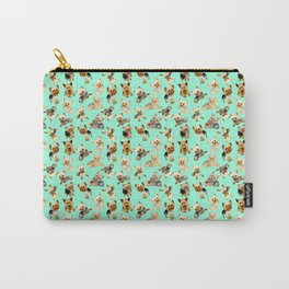 Yorkie Pattern Carry-All Pouch