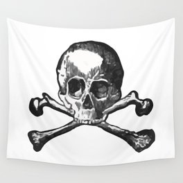 Skull and bones 2 Wall Tapestry