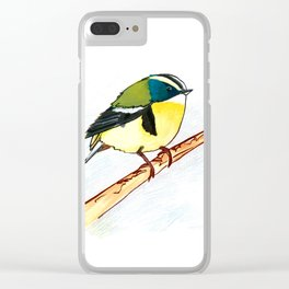 rush tyrant bird study Clear iPhone Case