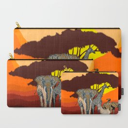 Jungle Jumble Carry-All Pouch