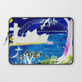 Sydney Opera House    AUSTRALIA                 by Kay Lipton Laptop Sleeve