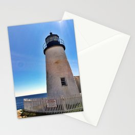 Pemaquid Point Lighthouse in Bristol, Maine (2) Stationery Cards