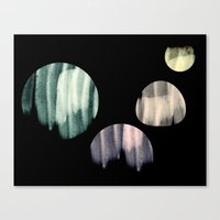 planets Canvas Prints featuring planets  by sustici