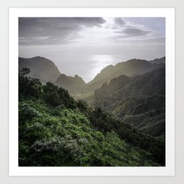 Masca, Tenerife, Spain Art Print