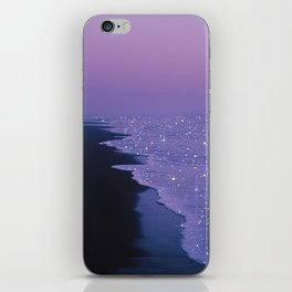 Purple magic iPhone Skin