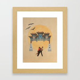 Double, Triple Happiness Framed Art Print